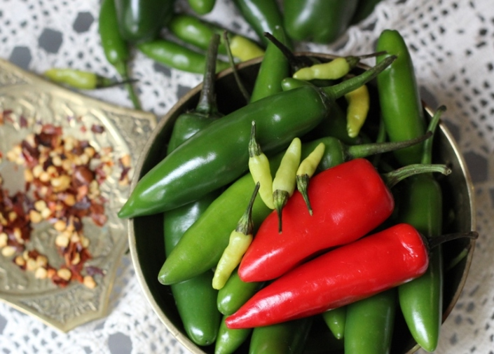 Raw Chillies